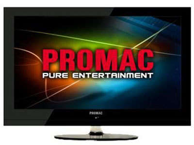 Promac TV Universal Remote codes